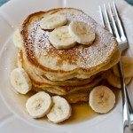 Sunday Morning Banana Pancakes