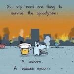 All We Need is a Badass Unicorn!