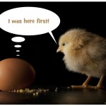 The Chicken or the Egg of Story Telling