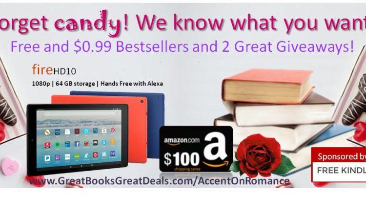 February Giveaway: Kindle Fire HD 1080, $100 Shopping Spree