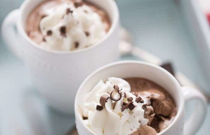 Better than Starbucks Mocha with Chocolate and Liqueur